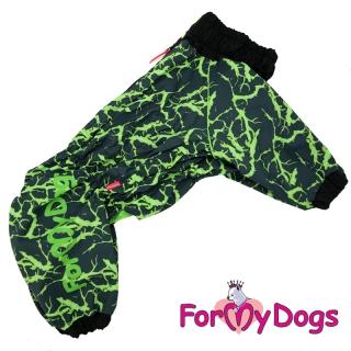 FMD дождевик черно/зеленый для мальчиков А0