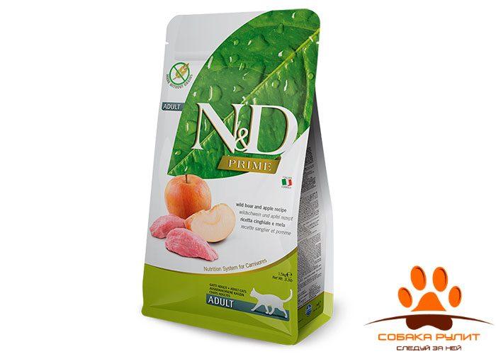 N&D Prime Cat Boar & Apple Adult