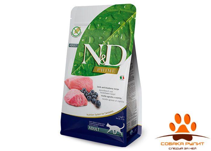 N&D Prime Cat Lamb & Blueberry Adult