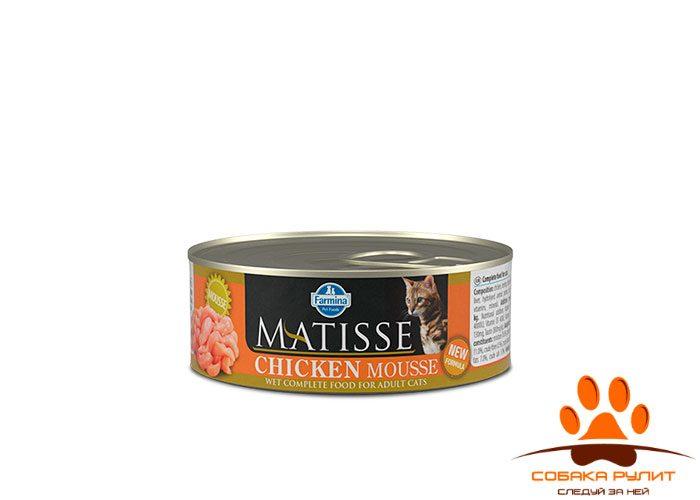 Matisse Cat Mousse Chicken 85g