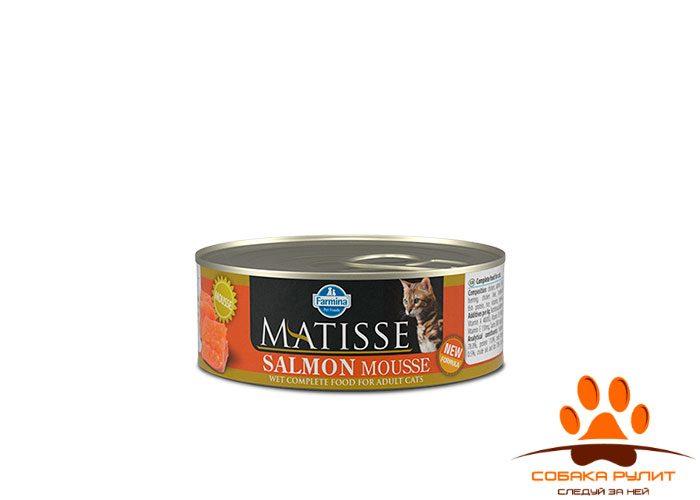 Matisse Cat  Mousse Salmon 85g