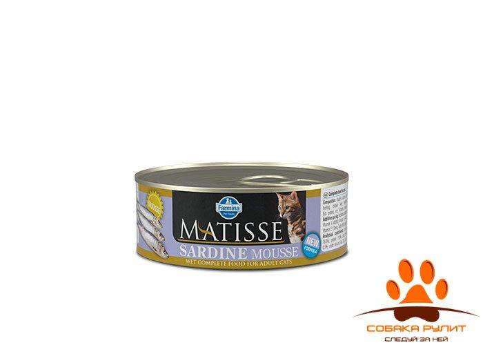 Matisse Cat Mousse Sardine 85g
