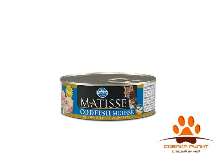 Matisse Cat Mousse Codfish