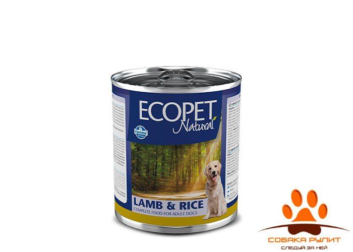 Ecopet Natural Dog lamb & Rice