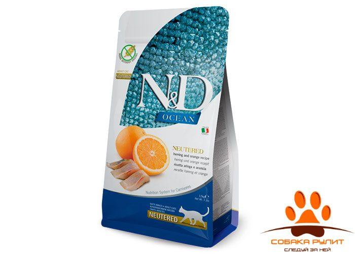 Farmina Ocean Neutered, Herring & Orange Adult